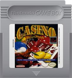 Cartridge artwork for Casino FunPak on the Nintendo Game Boy.