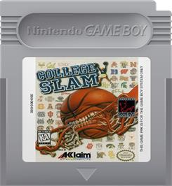 Cartridge artwork for College Slam on the Nintendo Game Boy.