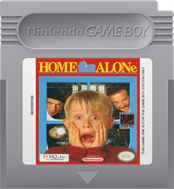 Cartridge artwork for Home Alone on the Nintendo Game Boy.