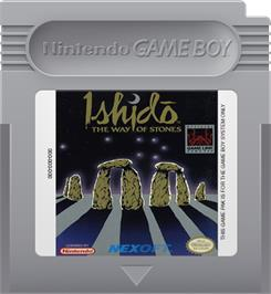Cartridge artwork for Ishido: The Way of Stones on the Nintendo Game Boy.
