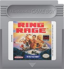 Cartridge artwork for Ring Rage on the Nintendo Game Boy.