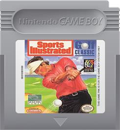 Cartridge artwork for Sports Illustrated - Golf Classic on the Nintendo Game Boy.