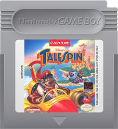 Cartridge artwork for TaleSpin on the Nintendo Game Boy.