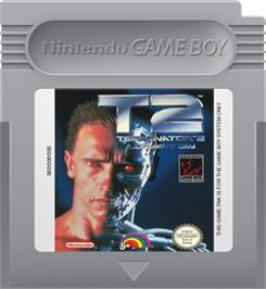 Cartridge artwork for Terminator 2 - Judgment Day on the Nintendo Game Boy.