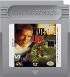 Cartridge artwork for True Lies on the Nintendo Game Boy.