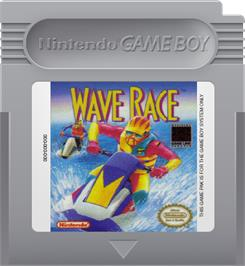Cartridge artwork for Wave Race on the Nintendo Game Boy.