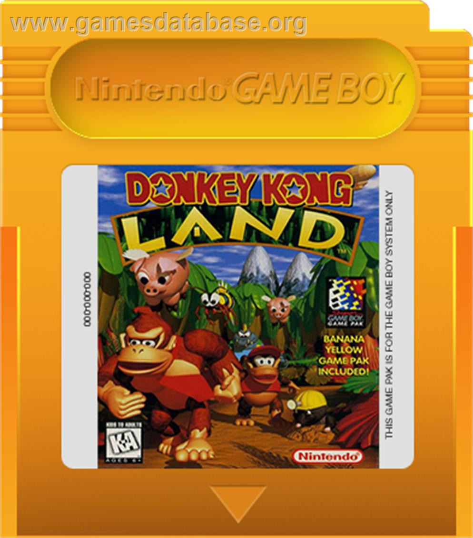 donkey kong land sur game