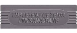 Top of cartridge artwork for Legend of Zelda: Link's Awakening on the Nintendo Game Boy.