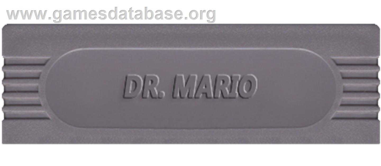 Dr. Mario - Nintendo Game Boy - Artwork - Cartridge Top