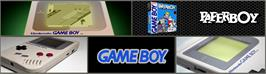 Arcade Cabinet Marquee for Paperboy.