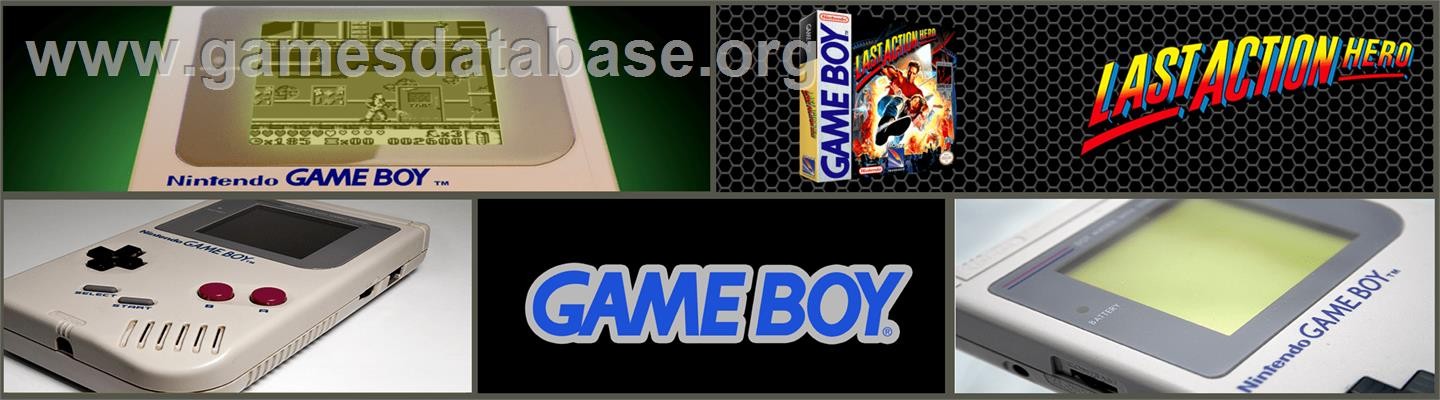 Last Action Hero - Nintendo Game Boy - Artwork - Marquee