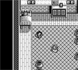 In game image of Aretha 3 on the Nintendo Game Boy.