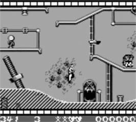 In game image of Cool World on the Nintendo Game Boy.