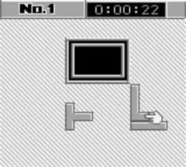 In game image of Daedalian Opus on the Nintendo Game Boy.