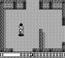 In game image of Fortified Zone on the Nintendo Game Boy.