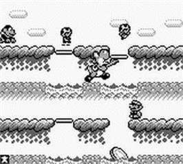 In game image of Game & Watch Gallery on the Nintendo Game Boy.