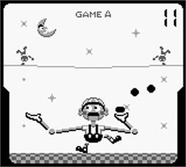 In game image of Game Boy Gallery on the Nintendo Game Boy.