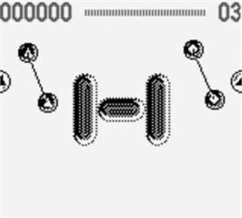 In game image of Game of Harmony on the Nintendo Game Boy.