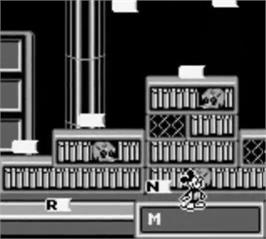 In game image of Mickey's Ultimate Challenge on the Nintendo Game Boy.