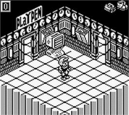 In game image of Monster Max on the Nintendo Game Boy.