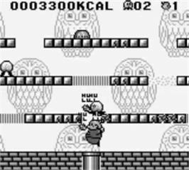 In game image of Mr. Chin's Gourmet Paradise on the Nintendo Game Boy.