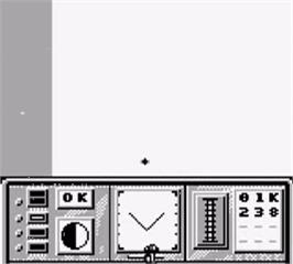 In game image of Phantom Air Mission on the Nintendo Game Boy.