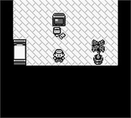 In game image of Pokemon - Red Version on the Nintendo Game Boy.