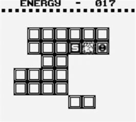 In game image of Pyramids of Ra on the Nintendo Game Boy.