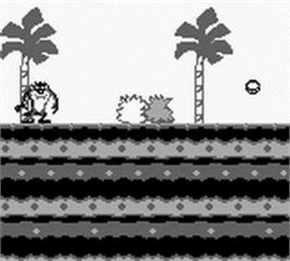 In game image of Taz-Mania on the Nintendo Game Boy.