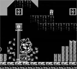 In game image of Titus the Fox: To Marrakech and Back on the Nintendo Game Boy.