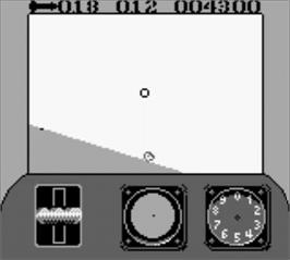 In game image of Top Gun: Guts & Glory on the Nintendo Game Boy.