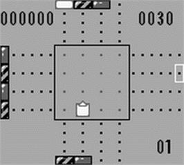 In game image of Zoop on the Nintendo Game Boy.