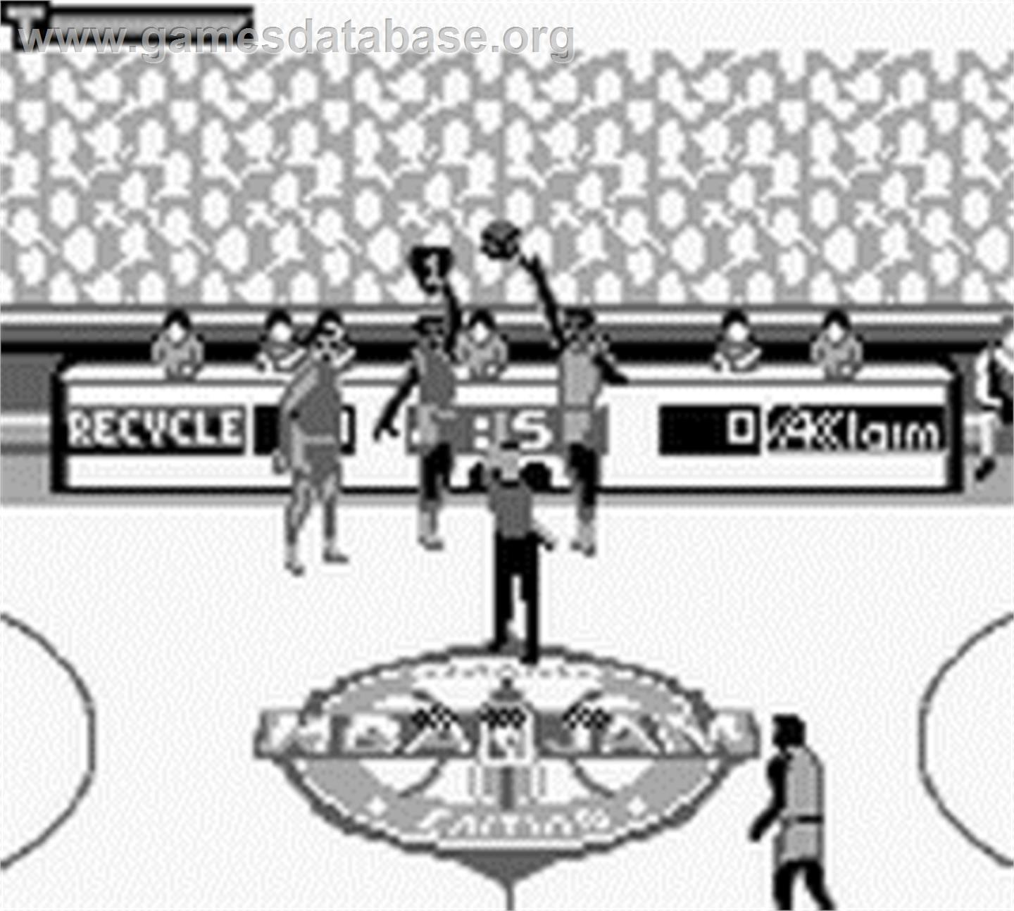 NBA Jam TE - Nintendo Game Boy - Artwork - In Game