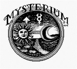 Title screen of Mysterium on the Nintendo Game Boy.