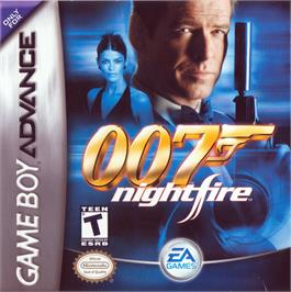 Box cover for 007: Nightfire on the Nintendo Game Boy Advance.