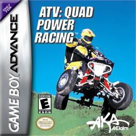 Box cover for ATV: Quad Power Racing on the Nintendo Game Boy Advance.