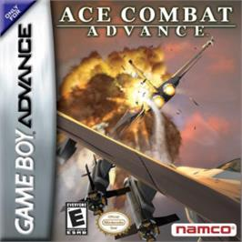 Box cover for Ace Combat Advance on the Nintendo Game Boy Advance.