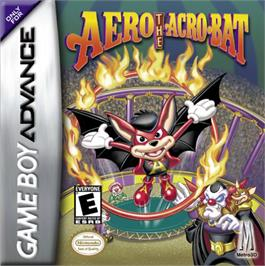 Box cover for Aero the Acro-Bat: Rascal Rival Revenge on the Nintendo Game Boy Advance.