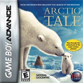 Box cover for Arctic Tale on the Nintendo Game Boy Advance.