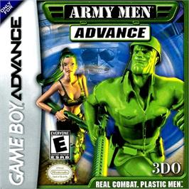 Box cover for Army Men: Advance on the Nintendo Game Boy Advance.