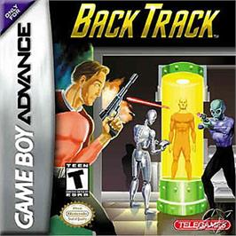Box cover for BackTrack on the Nintendo Game Boy Advance.
