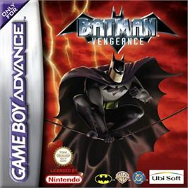 Box cover for Batman: Vengeance on the Nintendo Game Boy Advance.