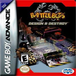 Box cover for BattleBots: Design & Destroy on the Nintendo Game Boy Advance.