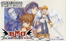 Box cover for Black/Matrix Zero on the Nintendo Game Boy Advance.