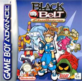Box cover for Black Belt Challenge on the Nintendo Game Boy Advance.