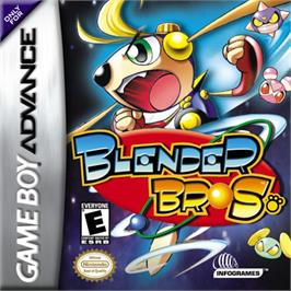 Box cover for Blender Bros. on the Nintendo Game Boy Advance.
