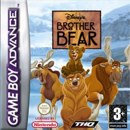 Box cover for Brother Bear on the Nintendo Game Boy Advance.