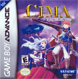 Box cover for CIMA: The Enemy on the Nintendo Game Boy Advance.
