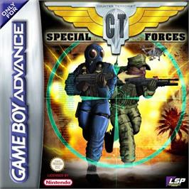 Box cover for CT Special Forces on the Nintendo Game Boy Advance.