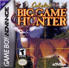 Box cover for Cabela's Big Game Hunter on the Nintendo Game Boy Advance.